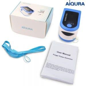 Máy SpO2 đo nồng độ oxy máu và nhịp tim 𝐀𝐢𝐐𝐔𝐑𝐀 𝐀𝐃𝟖𝟎𝟓_box