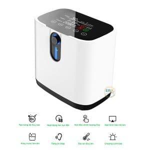 Máy tạo oxy HIDGEEM Plus 7 lít có xông khí dung
