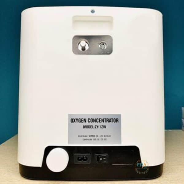Máy tạo oxy HIDGEEM Plus 7 lít có xông khí dung_back