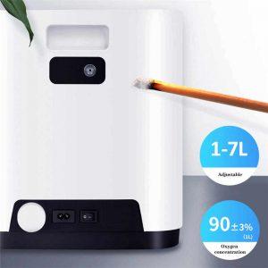 Máy tạo oxy HIDGEEM Plus 7 lít có xông khí dung_test