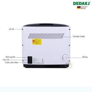 Máy tạo oxy gia đình DEDAKJ DE-1A 7Lít
