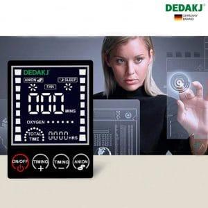 Máy tạo oxy gia đình DEDAKJ DE-1A 7Lít_LED