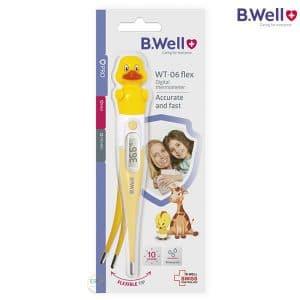 Nhiệt kế điện tử đầu mềm BWell WT-06 Flex Duck