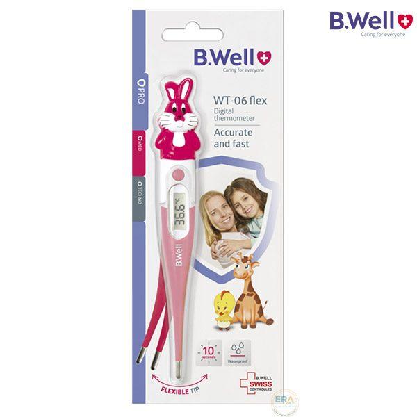 Nhiệt kế điện tử đầu mềm BWell WT-06 Flex Rabbit