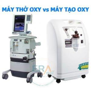 Phân biệt máy thở và máy tạo oxy