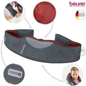 Đai massage shiatshu 3D kèm nhiệt Beurer MG151