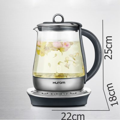 Bình nấu trà đa năng HUROM TM-B02FSS 1,4 lít-size